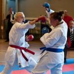 Sara Raftsjö på Västerås Karatecenter är flerfaldig SM mästare