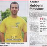 föredöme sammy på västerås karatecenter