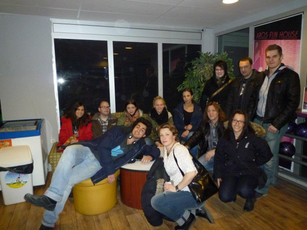 Bowlingkväll på Aros Fun House