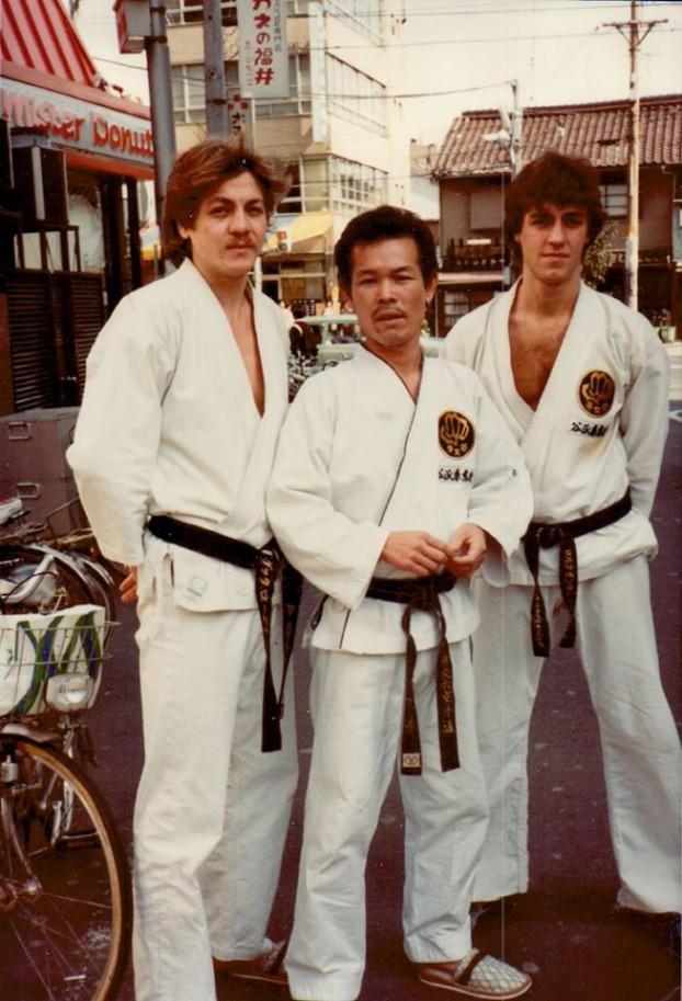 Enrico Vatteroni i Japan 1982