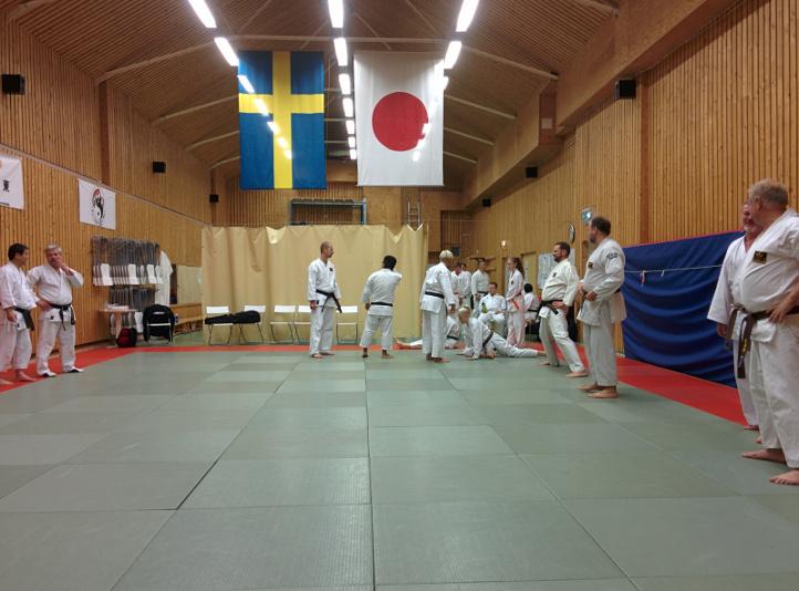 Innan träning - Norrköpingslägret HT2014