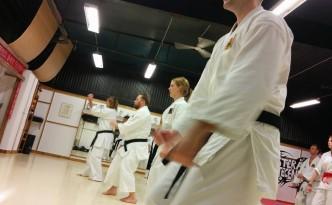 Kata avancerade gruppen Västerås Karatecenter