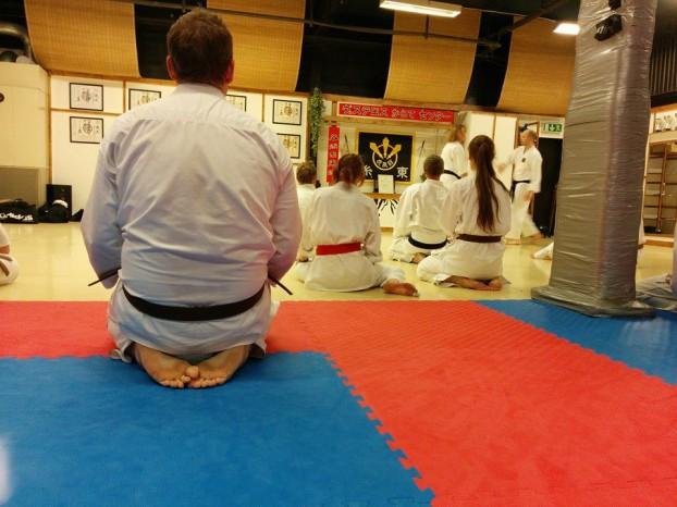 Undervisning på Västerås Karatecenter