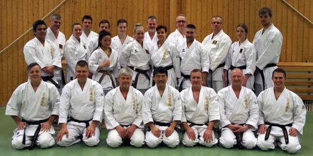 Karateläger med Tomiyama