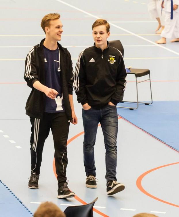 Västerås Karatecenter Klubbkamrater DM 2015