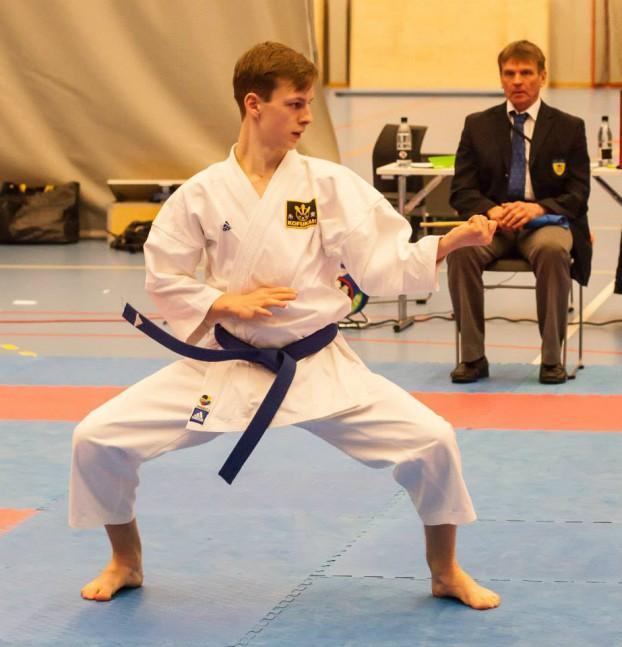 Västerås Karatecenter kata höjdpunkt under tävling