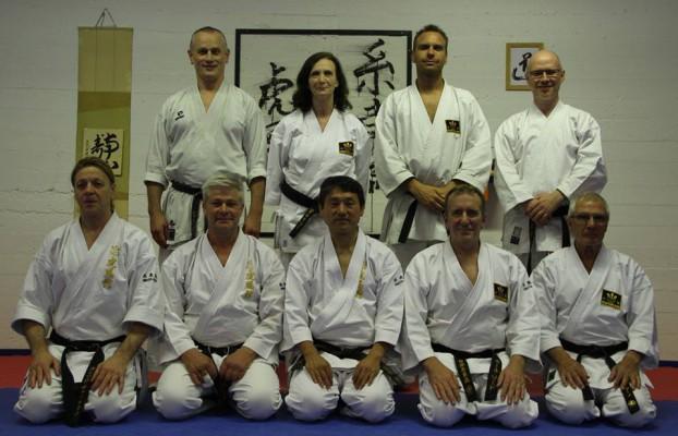 Enrico Vatteroni i Köpenhamn, Danmark med ledarna för Kofukan International