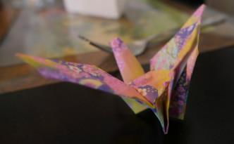 Origami på middagsbordet